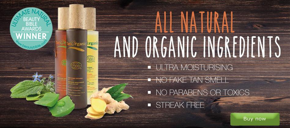 Tan Organic Starter Kit - With Free Application Glove!!! - Greenhouse Marketing (My Natural Choice)