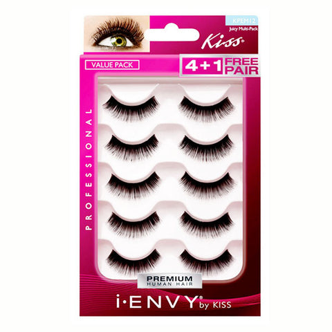 KISS I ENVY PRO VALUE PACK EYELASHES KPEM 12