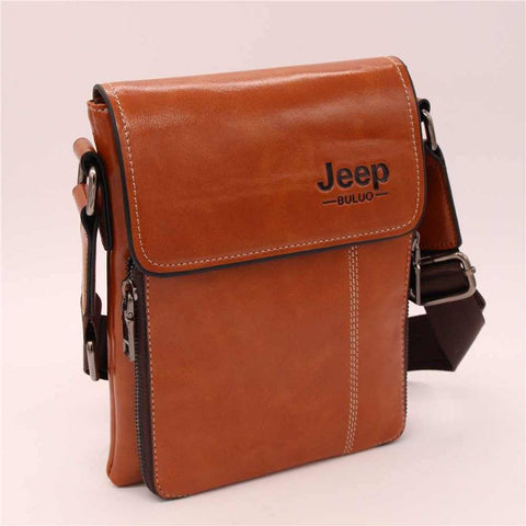 Jeep Leather bag for men