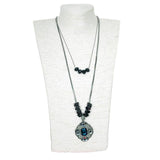 blue vintage - necklace - ahlayn.com