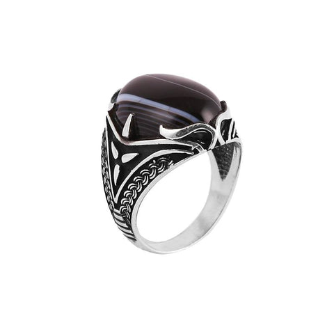 925 Silver ring for men ( New)