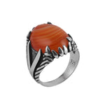 925 Silver ring V for men