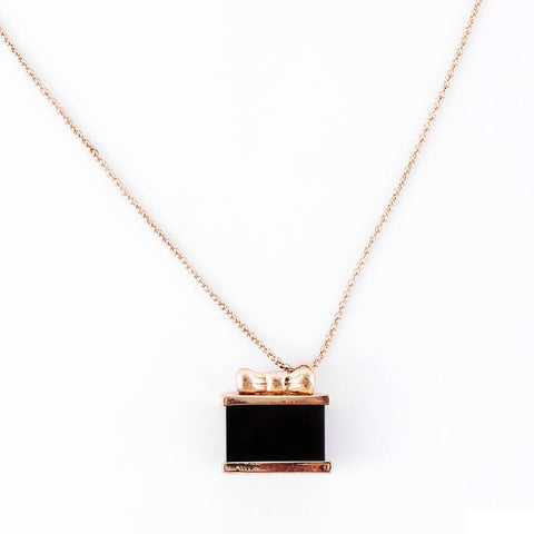Beauty Box necklace for women