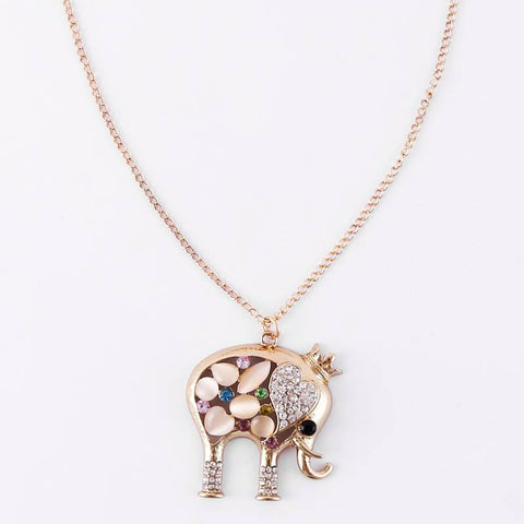 ELEPHANT NECKLACE - COLORFUL