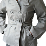 Sara kelly girly coat - Grey
