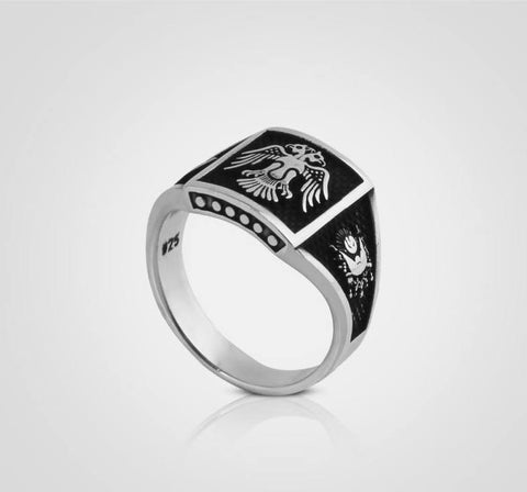 925 Silver ring for men-New