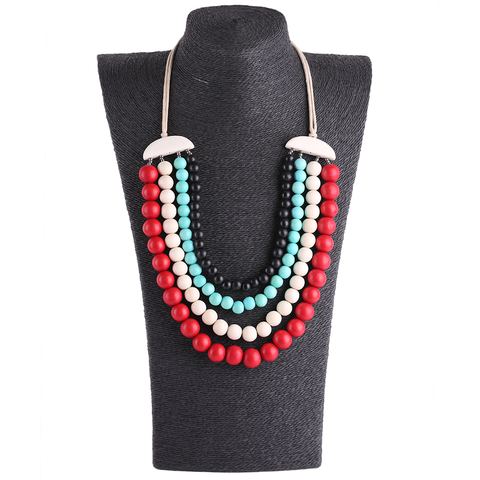 Design handmade fashion colors necklace for Women