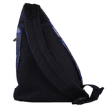 Shoulder Backpack Cross Body Bag -Black*Blue