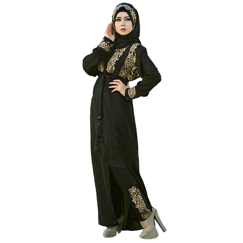 Kenzy Black Casual Abaya For Women