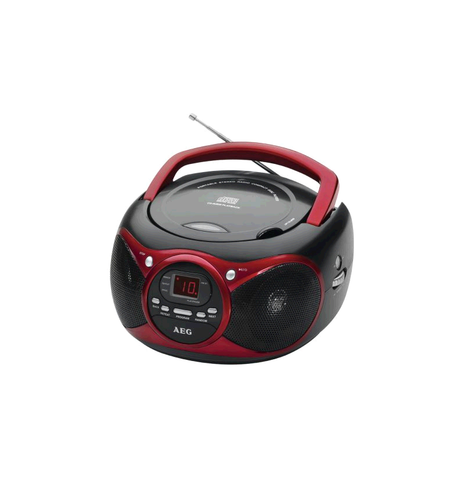 AEG Tragbares Stereo-Radio mit CD-Player / MP3
