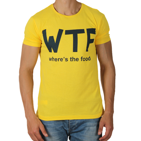 Yellow Tshirt for Men