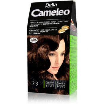 Cameleo Dark Chocolate BROWN 3.3 Hair Color Cream