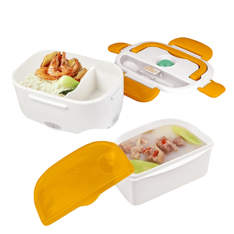Electric Lunch Box - Orange Color