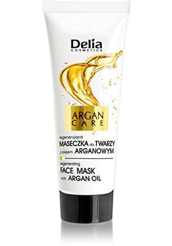 Delia Cosmetics Argan Care Regenerating Face Peeling With Argan Oil 60 ml