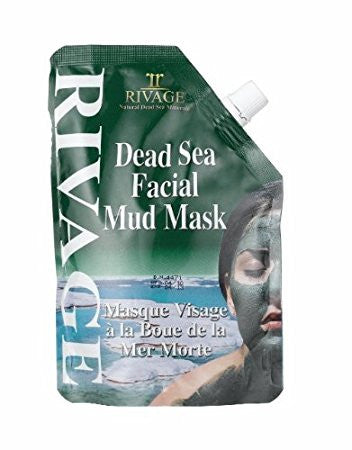 Rivage  Facial Natural Minerals Mud Mask From Dead Sea 500gm