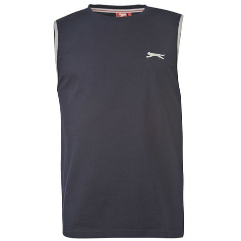 Slazenger Sleeveless T Shirt Mens (MEDIUM )