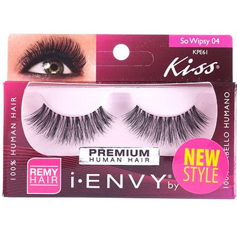 KISS I-ENVY LASHES SO WISPY 04 KPE61