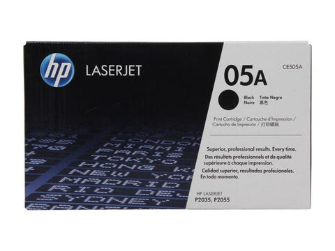 HP 05A ( CE505A ) Black LaserJet Toner Cartridge