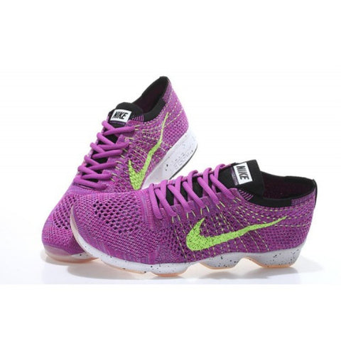 Nike Purple Fluorescent Green 698616-500 Women