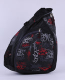 Shoulder Backpack Cross Body Bag-Red *Black