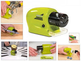 Swifty Sharp Cordless Motorized Knife Sharpener - Green