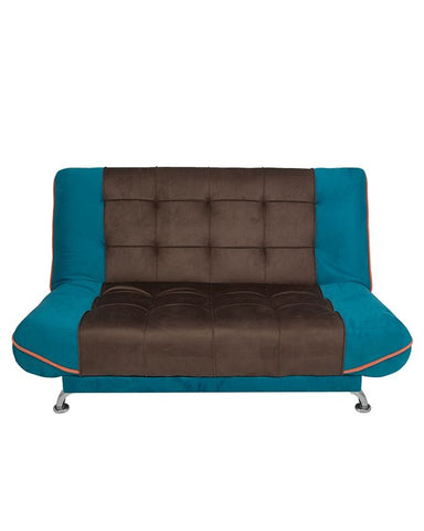 Art Home Sofa Bed - Turquoise/Brown