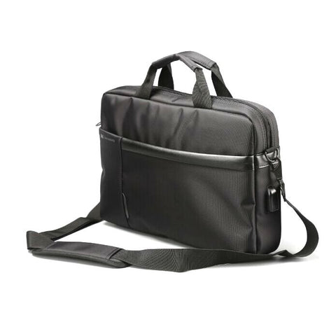 "L'avvento Laptop Office Bag, 15.6"" Black"