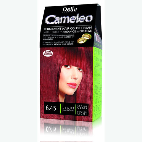 Cameleo Perm Hair Colour Cream 6.45 L/Mahogany