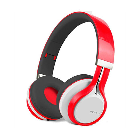 MARVO HB-004 Bluetooth headphone Black and Red