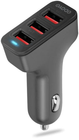 Odoyo Car charger with 3 USB