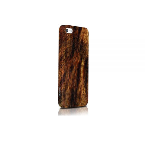 Odoyo Cover Compatible With Apple Iphone 5/5S/SE, Brown