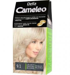 Delia Cameleo Hair Color Cream 9.1 - Ultimate Ash Blond