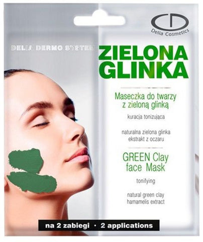Delia Tonifying Green Clay Face Mask