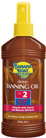 Banana Boat Deep Tanning Oil SPF2 (236ml)