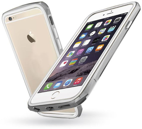 Odoyo Cover Compatible With Apple Iphone 6, Silver