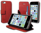 Odoyo Cover Compatible With Apple Iphone 5/5S/5C, Red