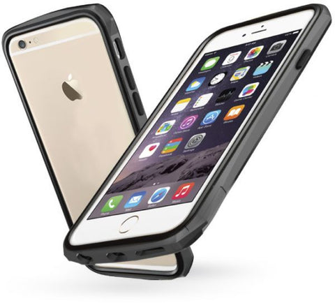 Odoyo Cover Compatible With Apple Iphone 6 Plus, Grey