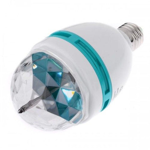 (Offer) Set of 5 LED Lamps E27+ 4 LED Full Color Rotating Lamp