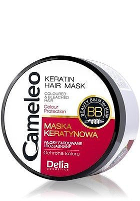 DELIA CAMELEO Keratin Hair Mask for Coloured Hair Colour Protection 200 ml