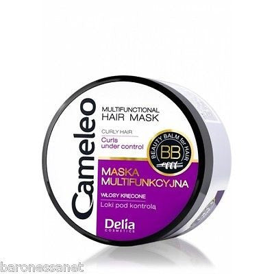 DELIA COSMETICS CAMELEO KERATIN MASK FOR CURLY HAIR 200ML