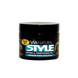 Via Natural Style Shining & Conditioning Gel (Regular Hold) 156ml