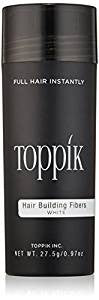 TOPPIK Hair Building Fibers, White 27.5 g