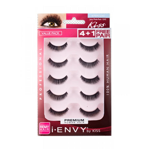 KISS I-ENVY LASHES JUICY MULTI-PACK 12XS KPEM12XS
