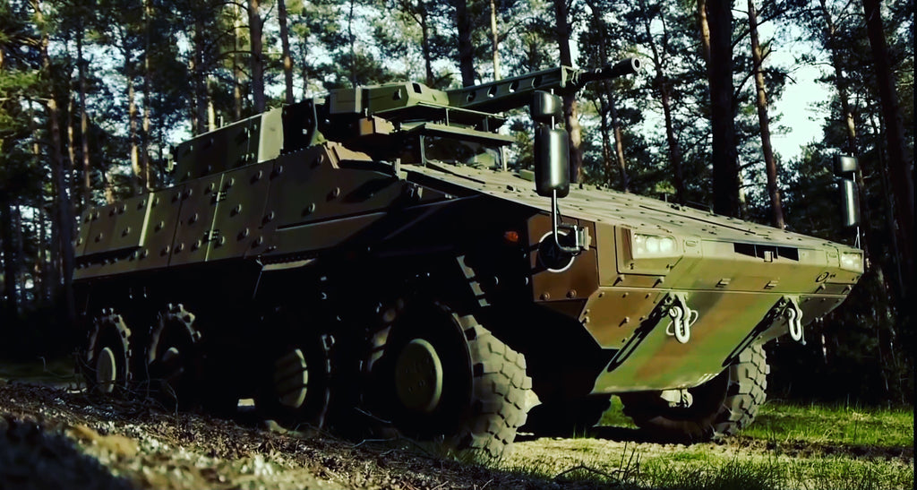 British Army step closer to receive first Rheinmetall's Boxer.