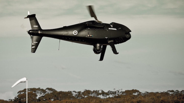 Schiebel Camcopter S-100 wins Navy VTOL UAS contract
