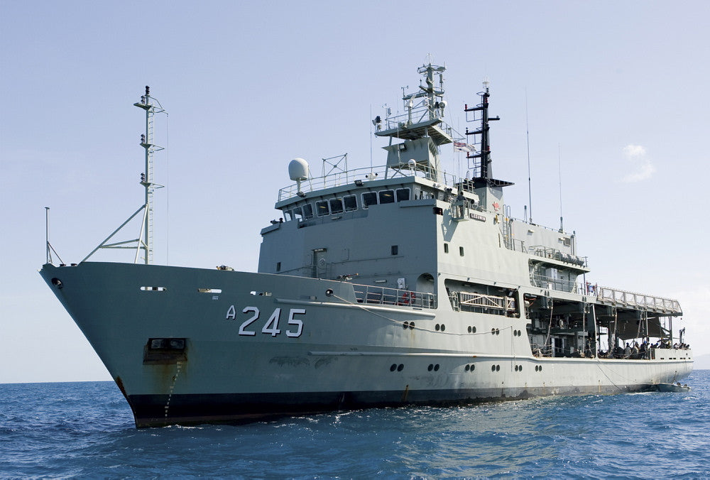 BAE Systems's $12 million contract (extension) to support the Royal Australian Navy's Hydrographic fleet until 2020.