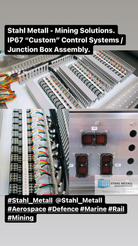 """Stahl Metall - Mining Solutions. IP67 """"Custom"""" Control Systems / Junction Box Assembly."""