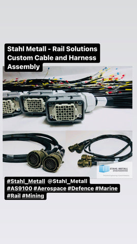 Stahl Metall: Rail Solutions Custom Cable and Harness Assembly