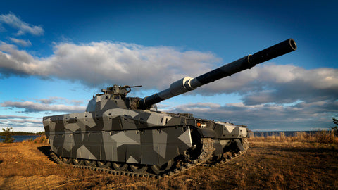 BAE Systems CV90 armored combat vehicles