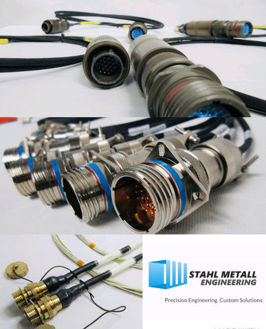 Custom Cable and Harness Assembly (Aerospace, Defence, Marine and Rail).